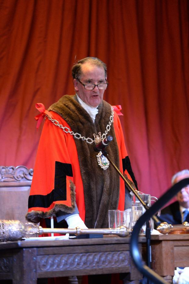 Dorset Echo: Dorchester welcomes new mayor