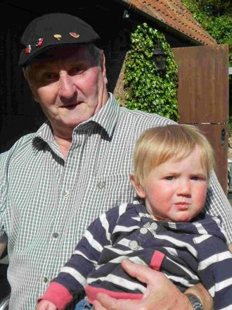 SPECIAL EVENT: Terry Coles and his great-grandson Teddy