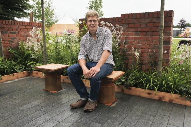 Dorset Echo: Former West Dorset student scoops gold at RHS Chelsea Flower Show