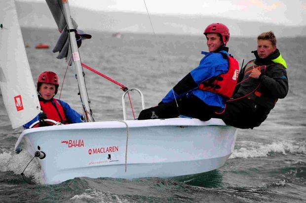WAVE TO GO: Sail for a fiver scheme