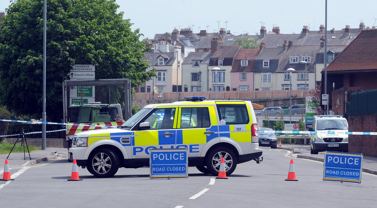 UPDATE WITH VIDEO: Man 'critical' after crash in Weymouth