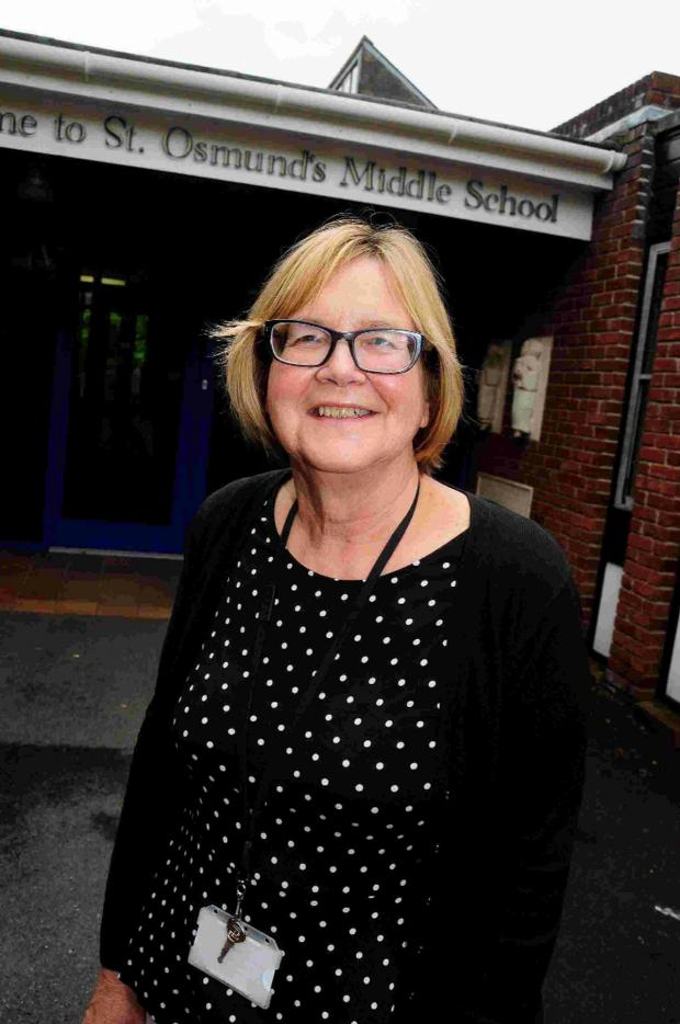 Dorset Echo: MEMORIES: Business manager Joy Ray