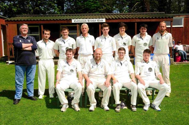 BIG SEASON AHEAD: The Cattistock team ahead of their recent match against Beaminster