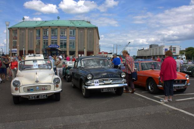 Classic car rally heads to Weymouth this weekend