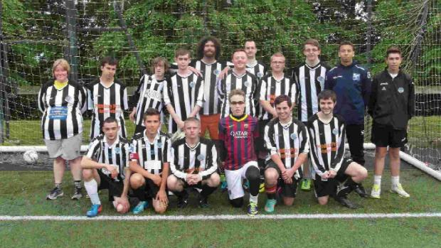 MAGIC MAGPIES: The Dorchester Town Ability Counts teams had excellent debut seasons