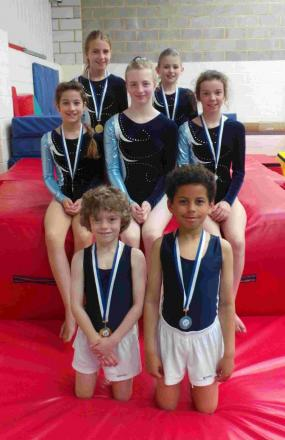 MEDALS GALORE: 360air Trampoline & Gymnastics Club