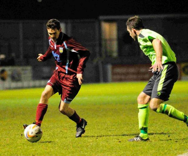 HONOURED: Terras' defender Ashley Wells