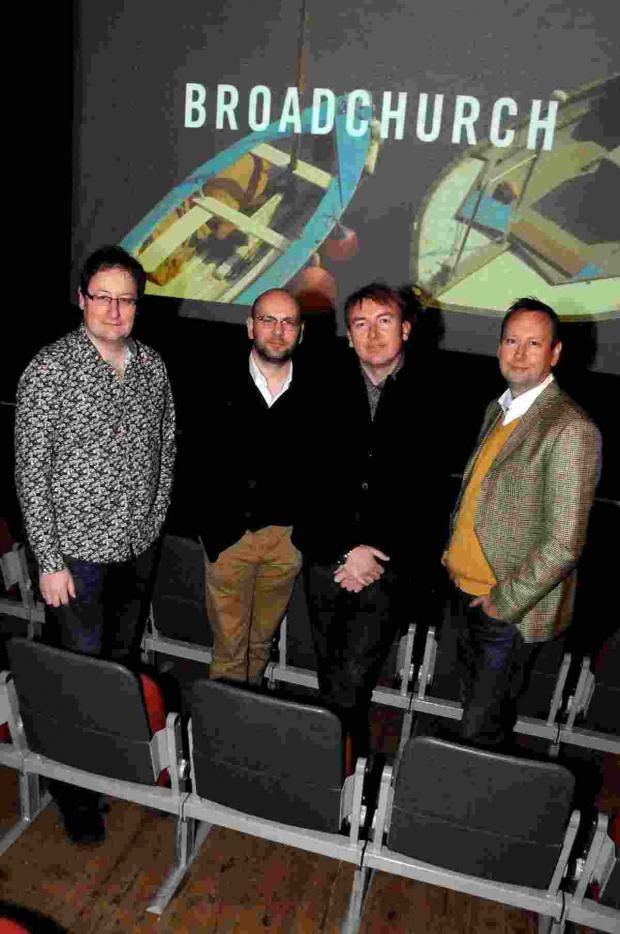 Dorset Echo: writer Chris Chibnall, producer Richard Stokes, director James Strong and editor Mike Jones