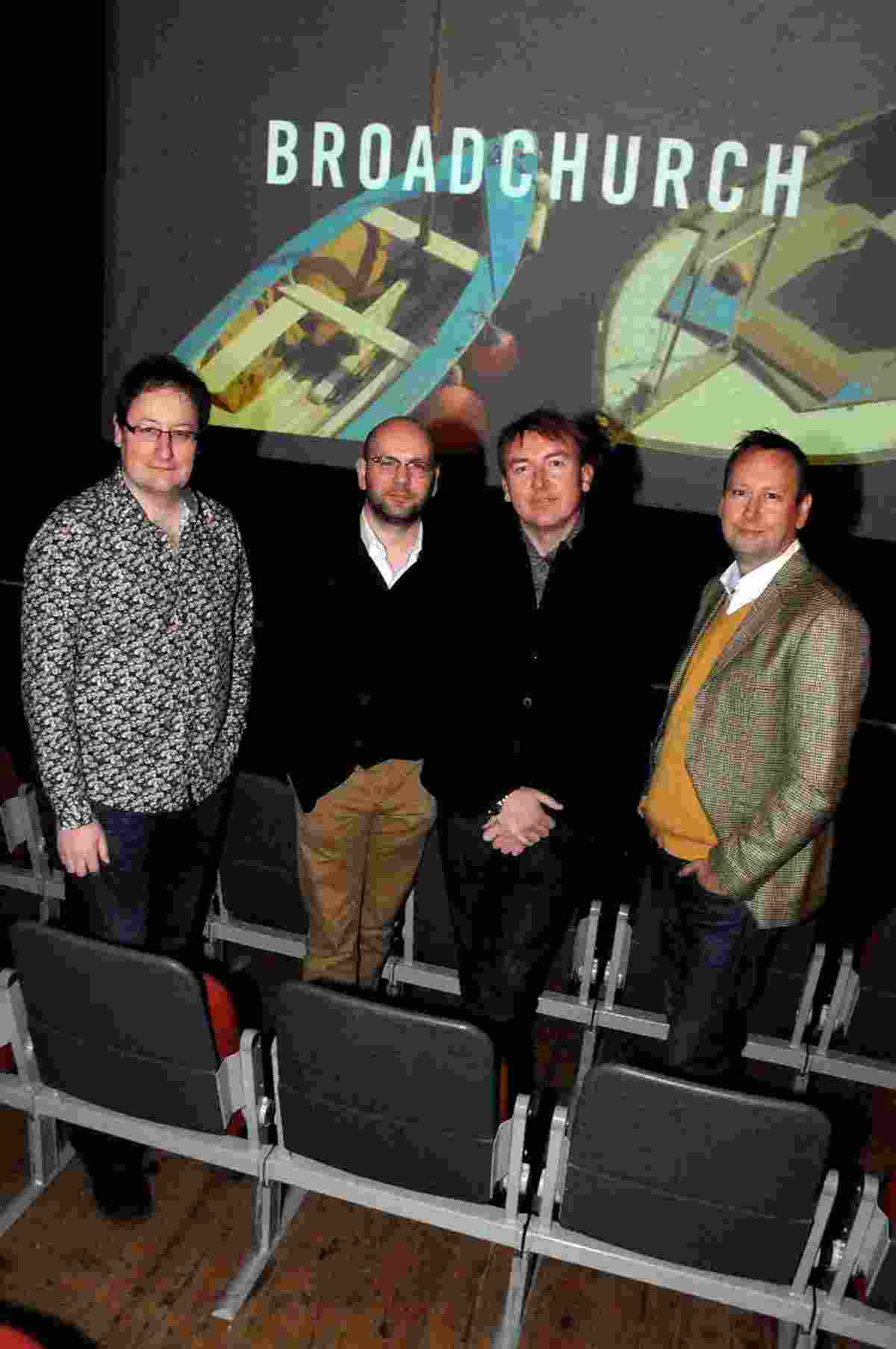 writer Chris Chibnall, producer Richard Stokes, director James Strong and editor Mike Jones