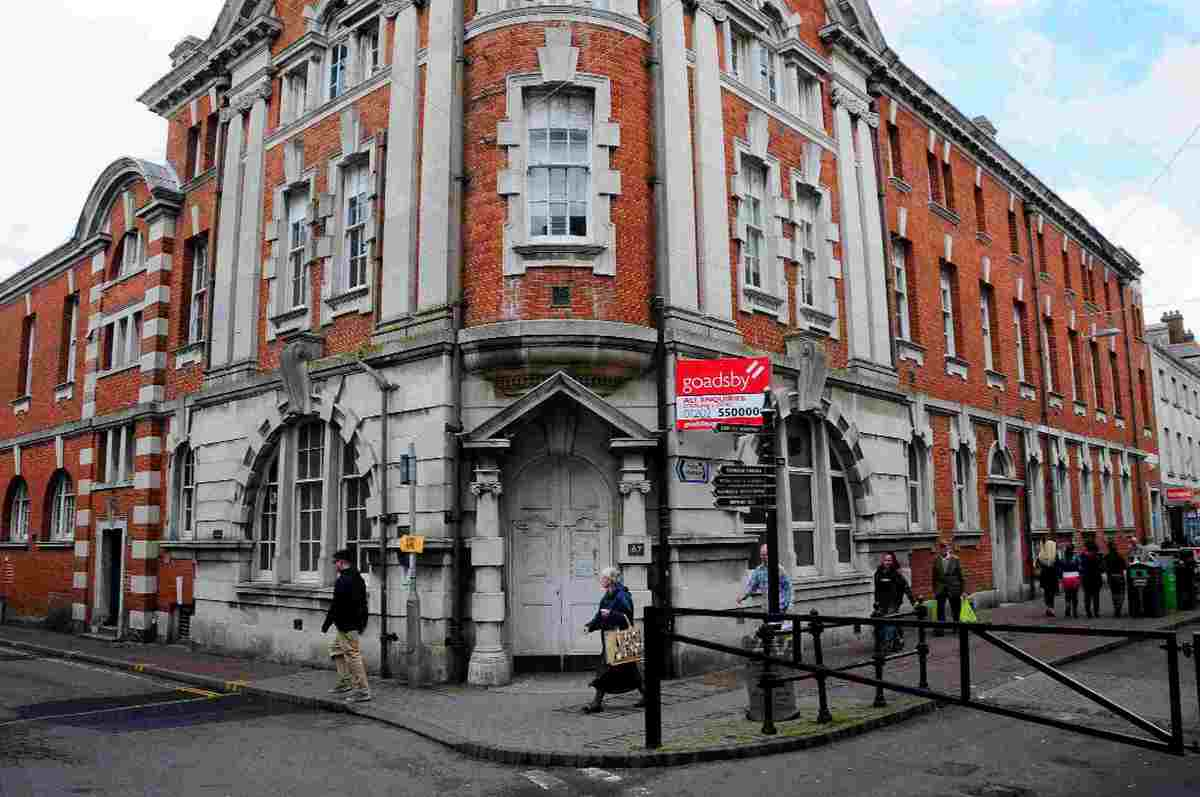 PLANS IN THE PIPELINE: The old post office building in St Thomas Street, Weymouth