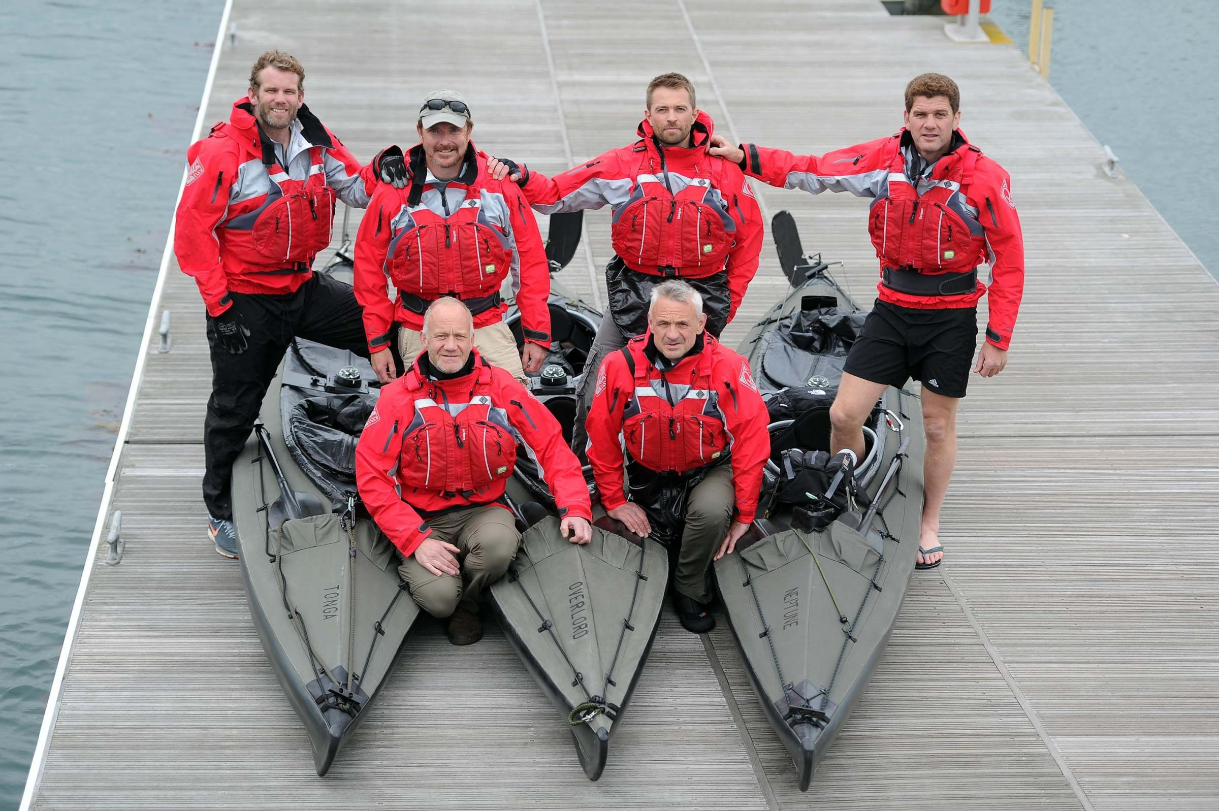 D-Day canoeists set for cross-Channel voyage