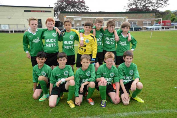 CUP WINNERS: Bridport Primary School