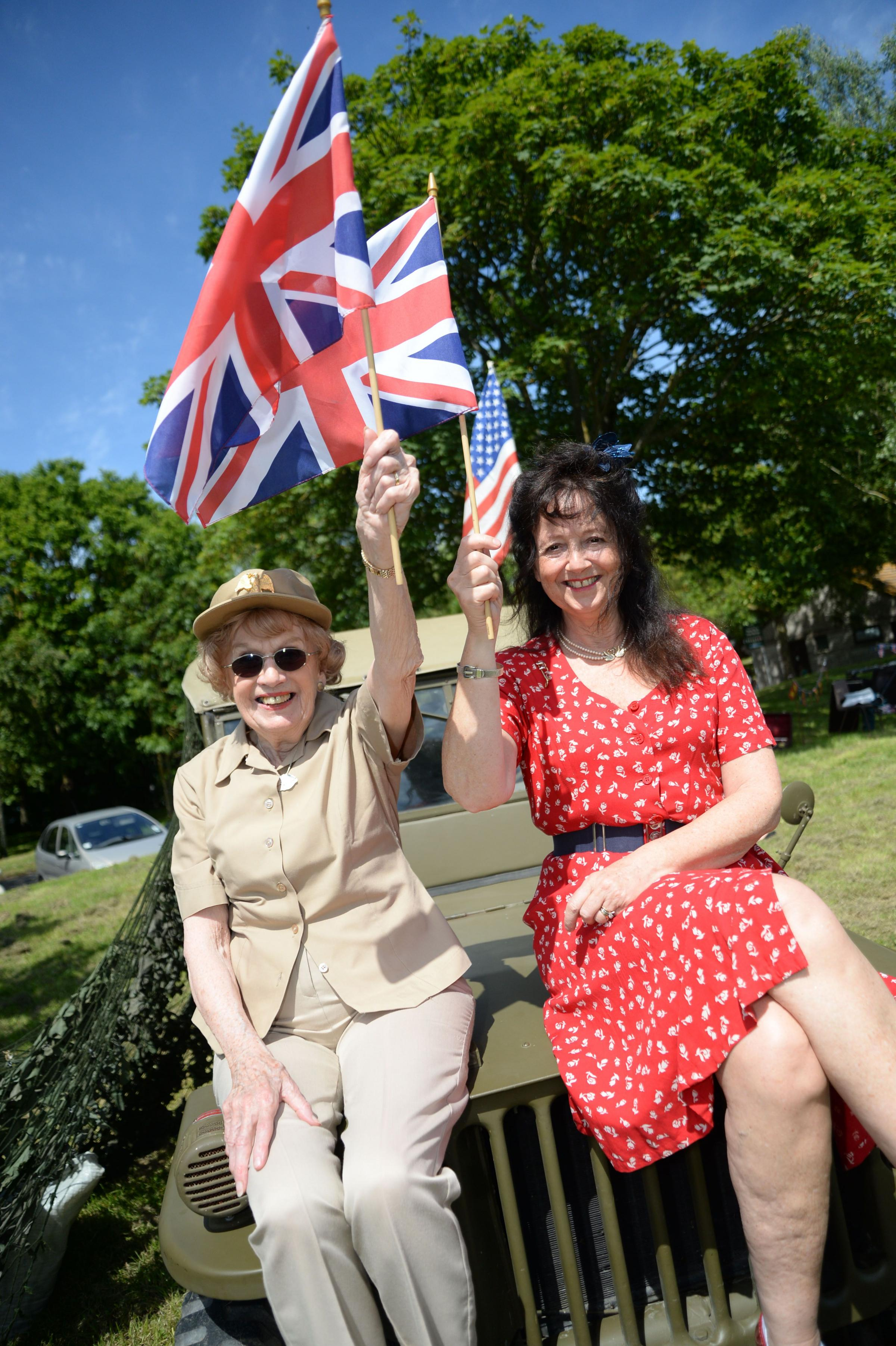 WITH VIDEO: Fun in the sun to commemorate D-Day