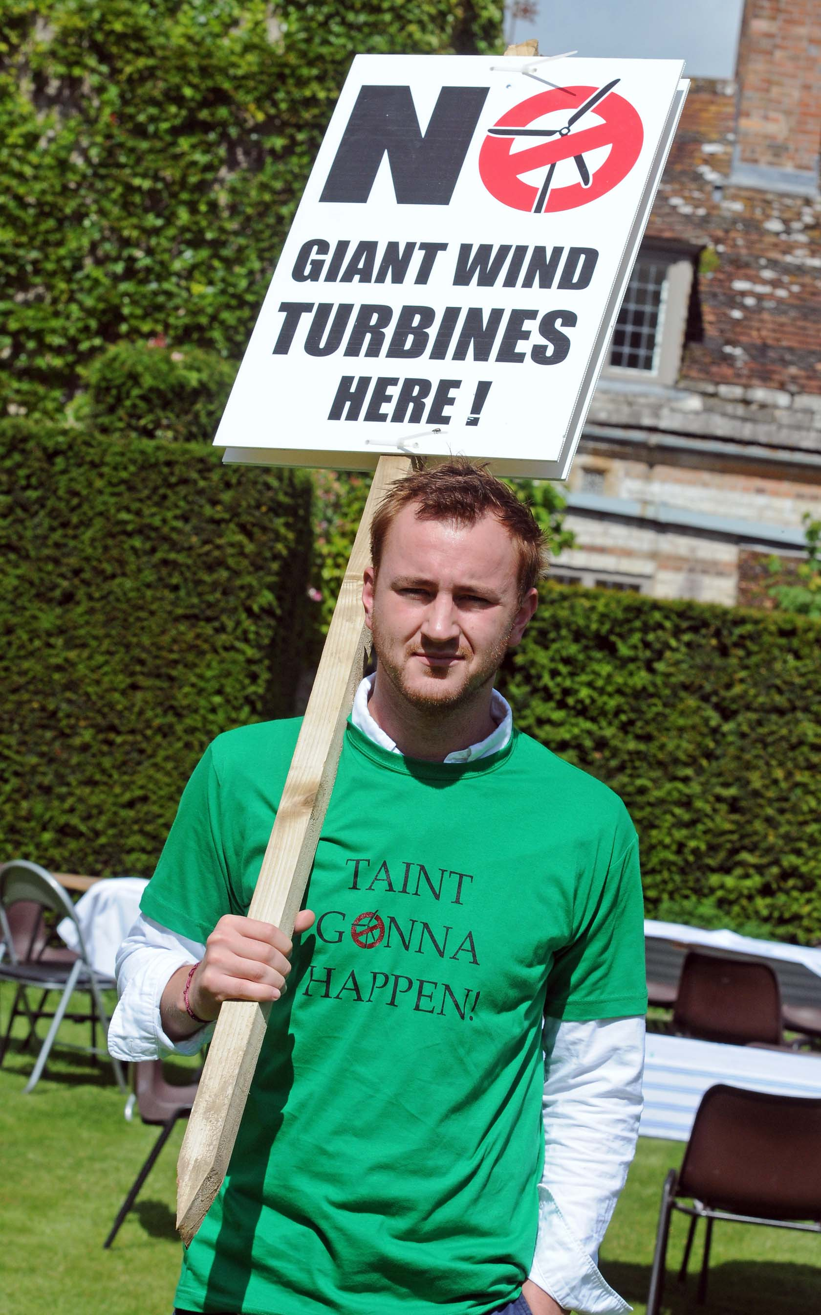 Made in Chelsea star returns to Dorset for windfarm campaign