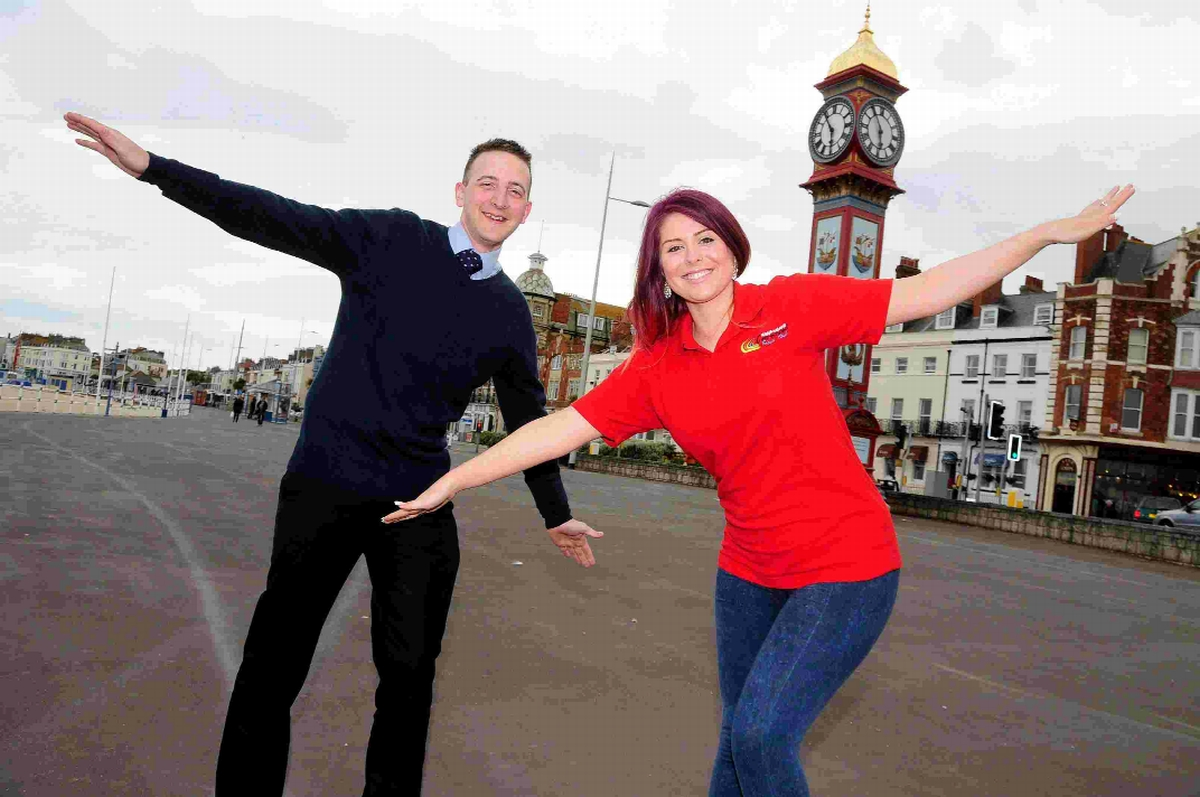 HELP US: Lee Armstrong and Elysia Munday promote this summers carnival