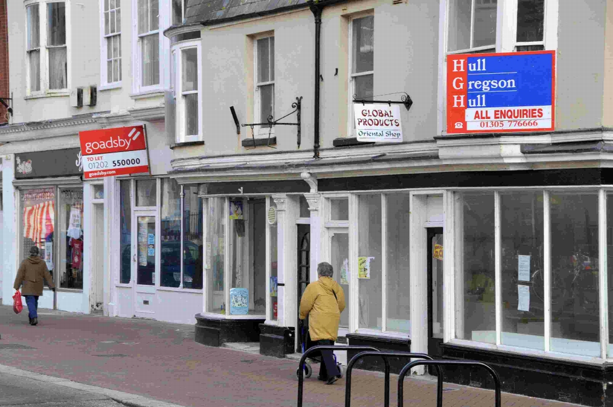 OUT OF USE: Empty premises in Weymouth town centre