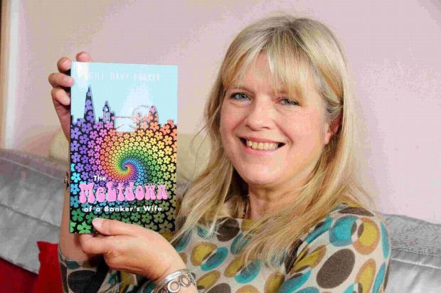 PUBLISHED: Gill Davy-Bowker who has had her first book