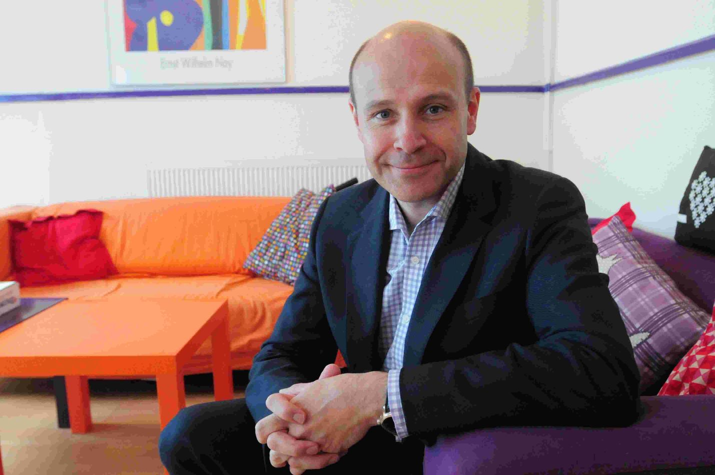 SCHOOL HELP: Children's Society chief executive Matthew Reed