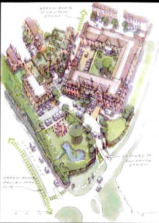 ARTIST'S VIEW: Weymouth FC homes plan
