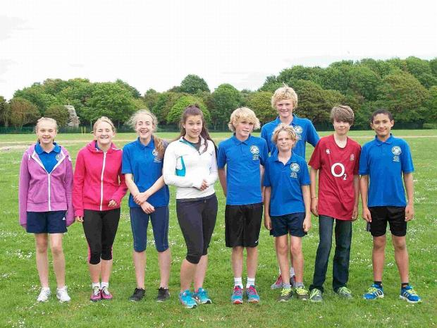 Dorset Echo: COUNTY SHOW: Weymouth St Paul's Harriers