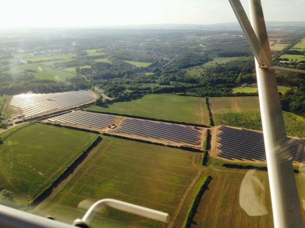 Dorset solar farm generates electricity for first time