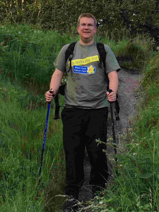 Three Peaks Challenge for county man Martyn