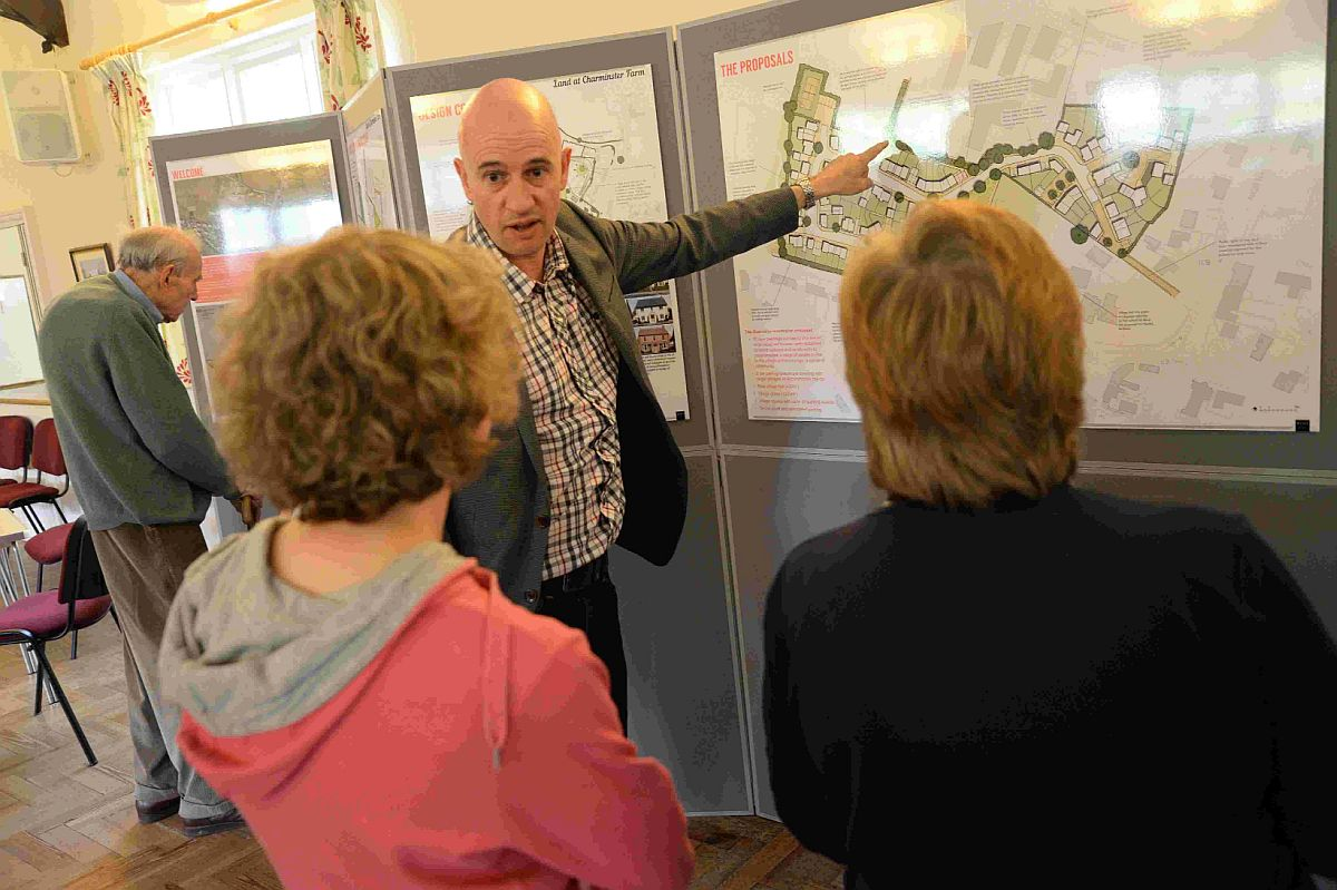 CHANGES: Andy Ward talks to local residents