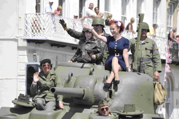 Tanks for the wartime memories