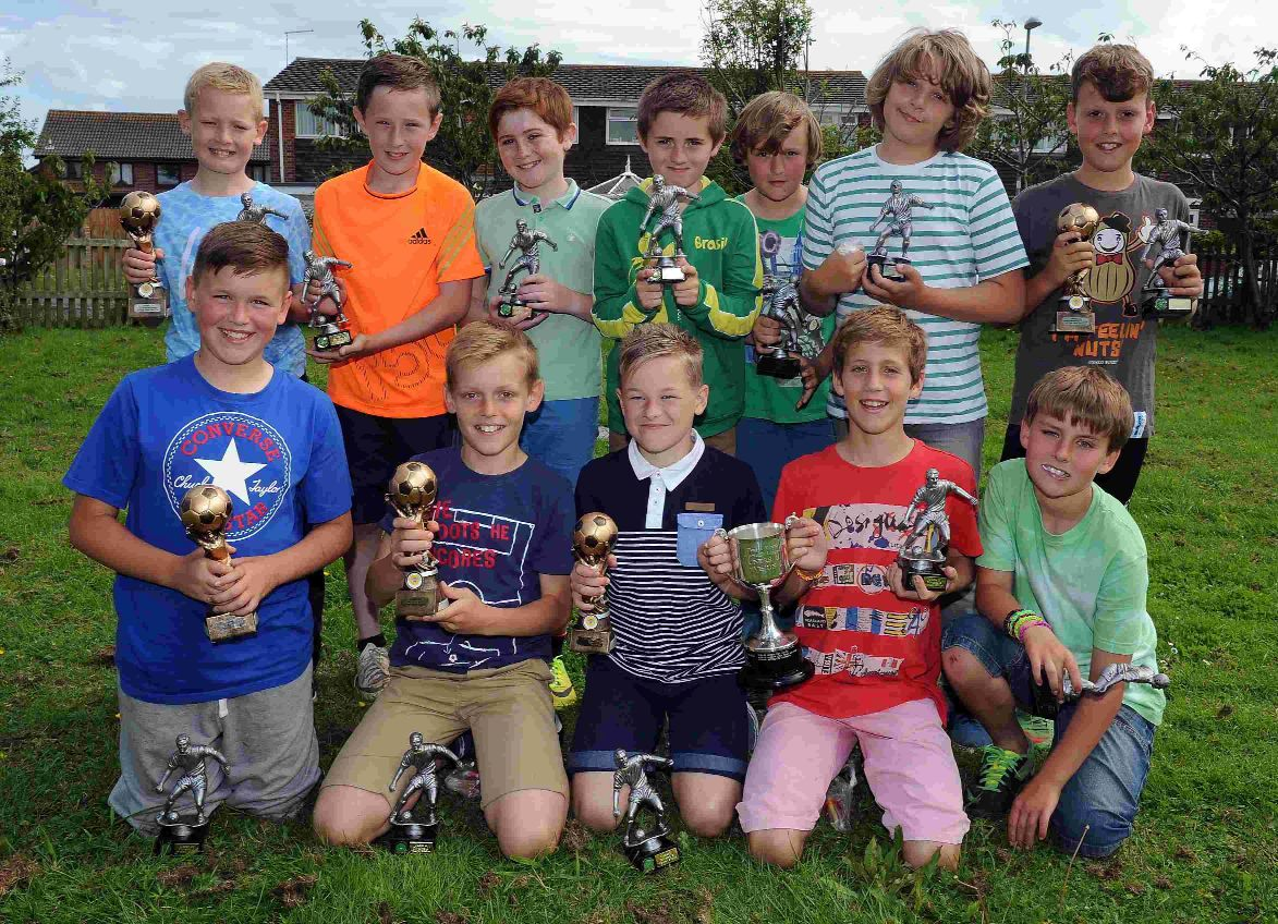 CHAMPIONS: Weymouth Cougars Under-11s