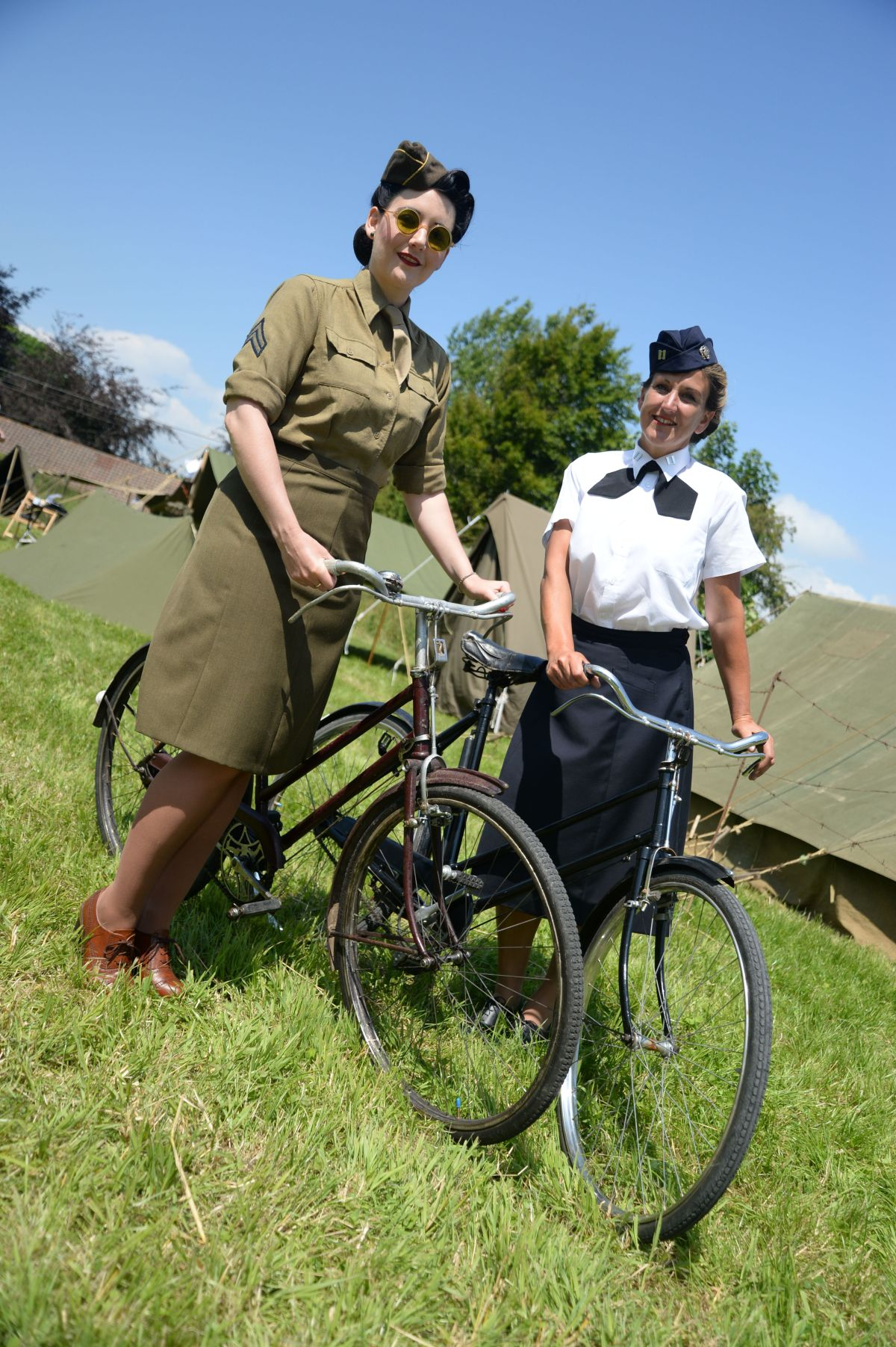 Village relives history as WW2 camp