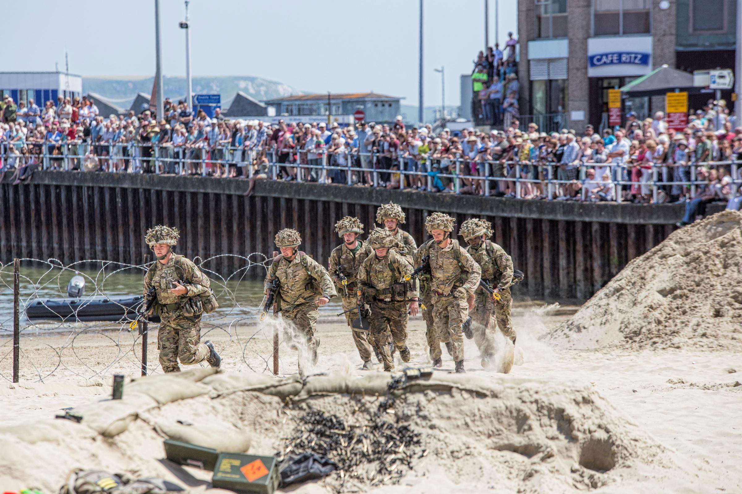 Weymouth shows wartime spirit for Armed Forces Day