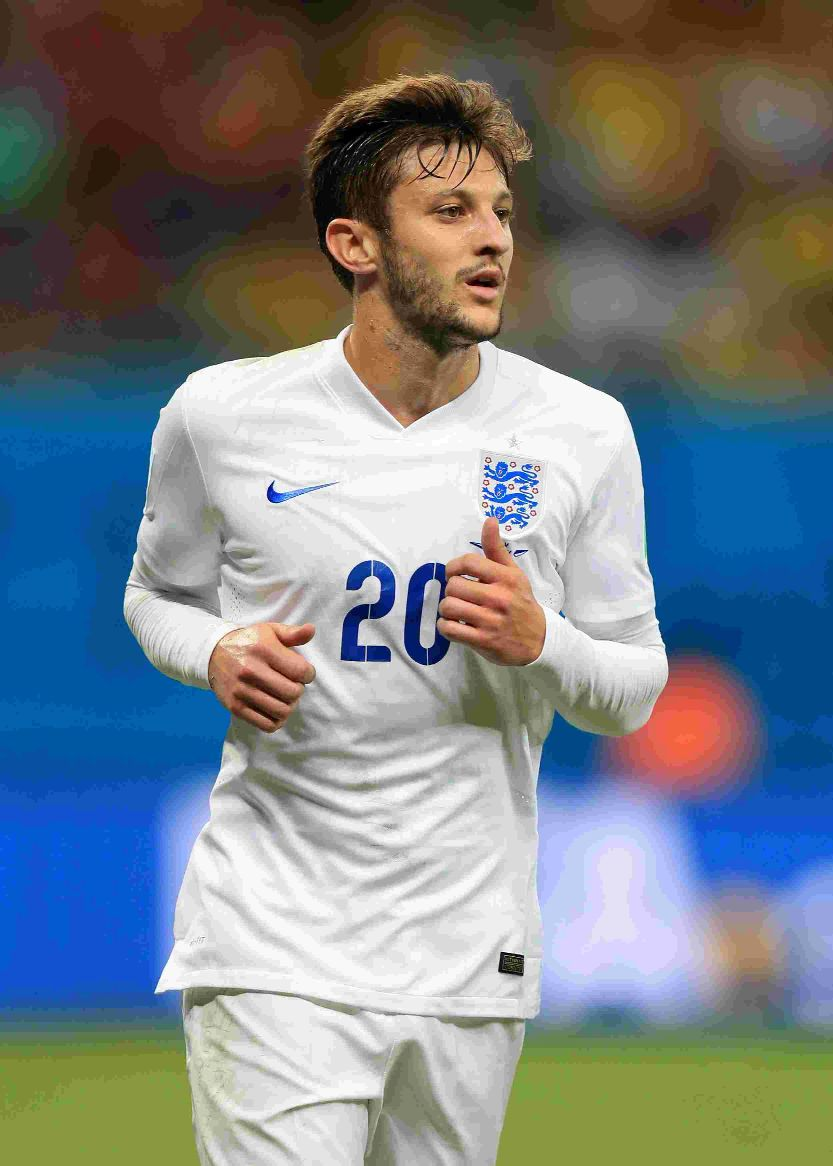 LIMITED CHANCES: England's Adam Lallana