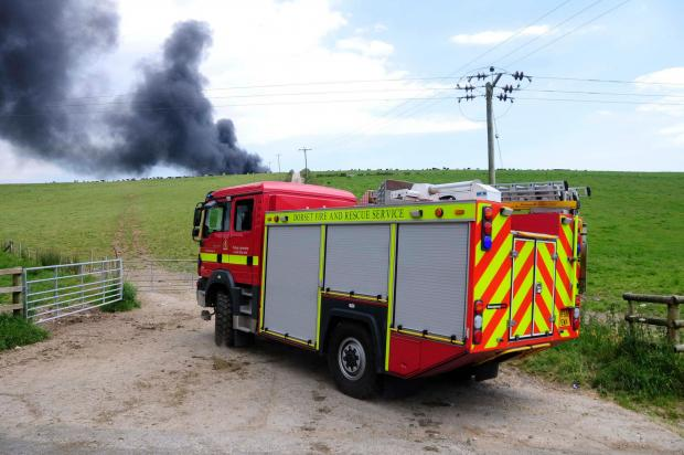 UPDATE: Thousands of litres needed to tackle tyre and rubbish blaze