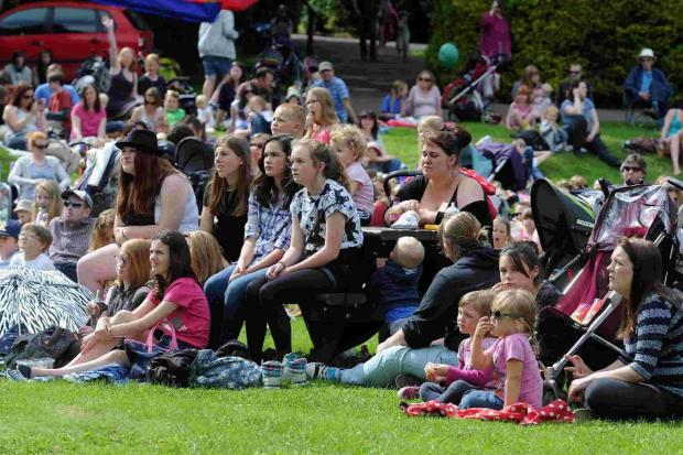 Dorset Echo: SCREEN SCENE: Film fans in the Borough Gardens
