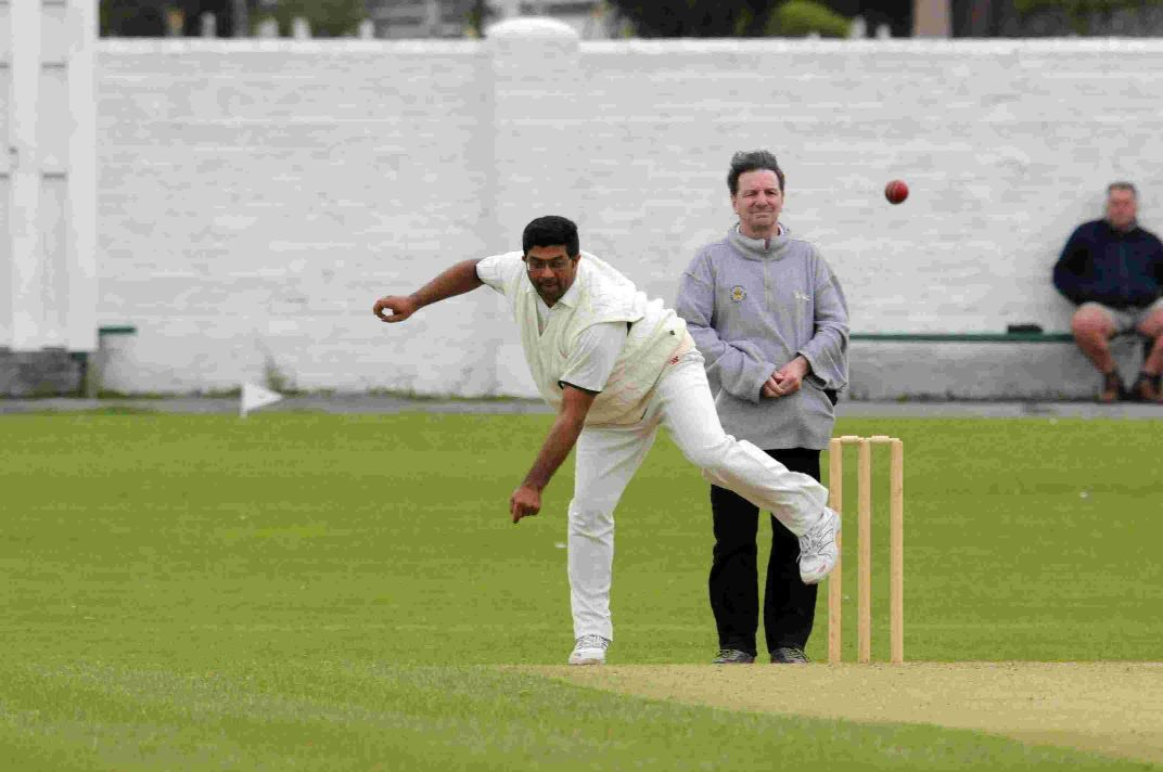 IN A SPIN: Abbotsbury spinner Krish Subramanian