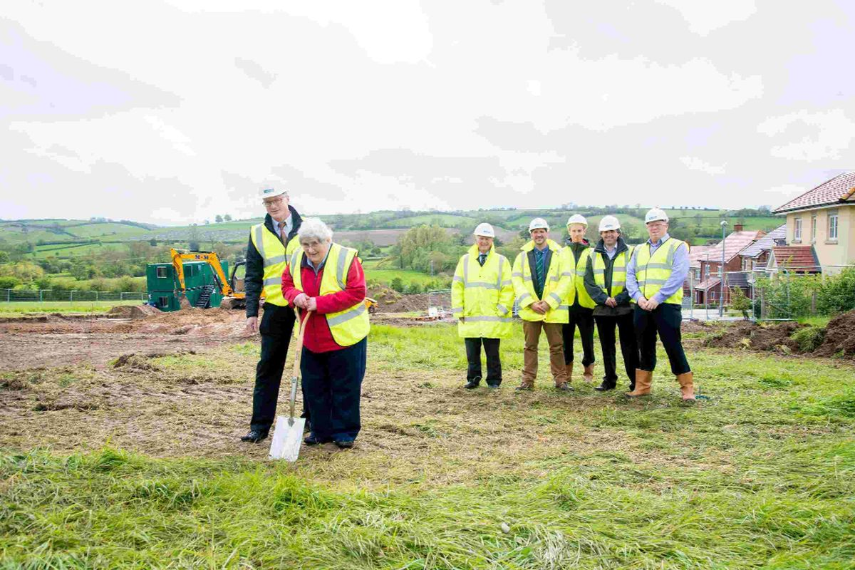 DIGGING IN: Work has started on a landmark project