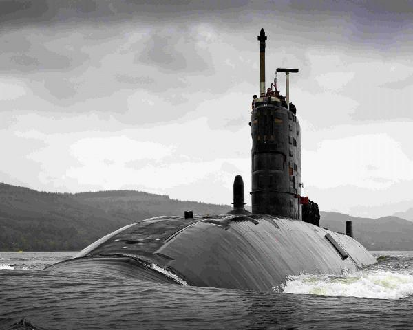 LETHAL WEAPON: HMS Torbay is a  hunter killer submarine