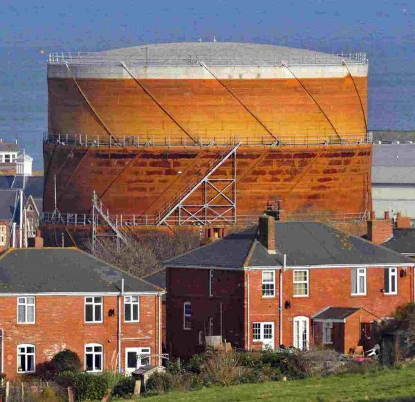 DERELICT: Gas holder to be demolished