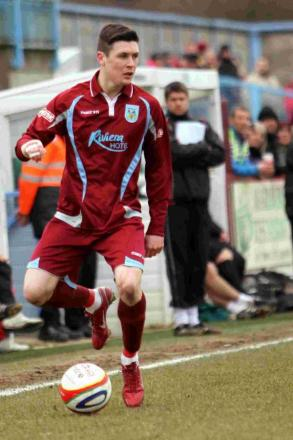 NEW RECRUIT: Dan Smith, pictured playing for Weymouth