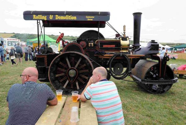 Chickerell Steam and Vintage Show organisers chuffed with best event yet