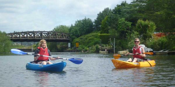 Paddle power: what it's like to explore the river Stour by kayak