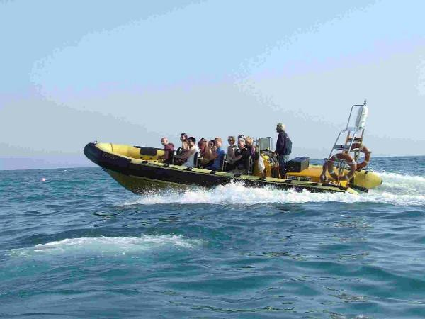 FARE FUNDS: Rib Rides have contributed towards raising cash for the Jurassic Coast Trust