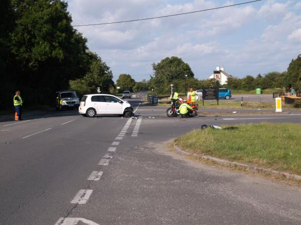 Tributes paid to 'happy' and 'cheerful' biker killed in A352 crash