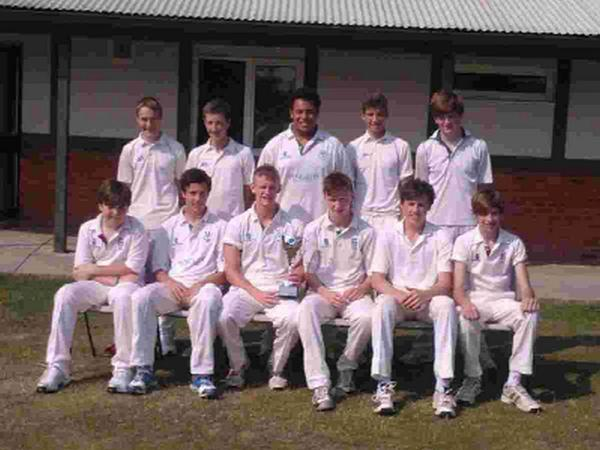 Dorset Echo: HAPPY MEMORIES: The winning Martinstown team from last year