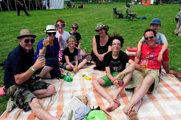 First ever Jurassic Fields Festival a success say organisers