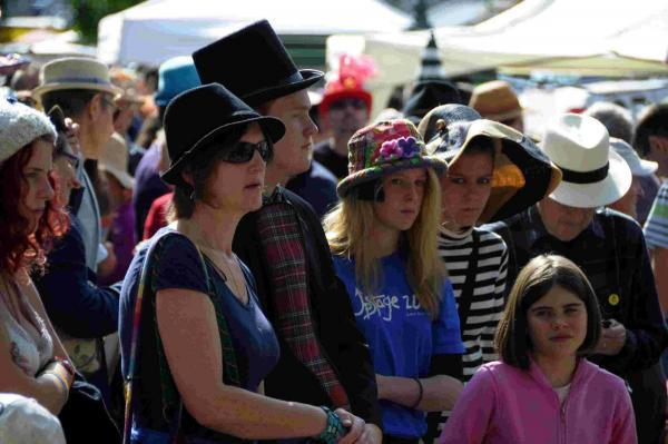 MAD HATTERS: Bridport Hat Festival