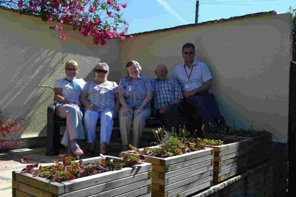 HELPING HAND: Residents at Knapwater