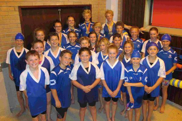 CLUB SHOW: Weymouth swimmers at the Dorset County Development meeting