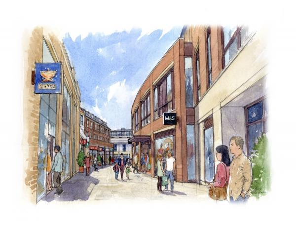 Dorchester residents check out latest Charles Street plans