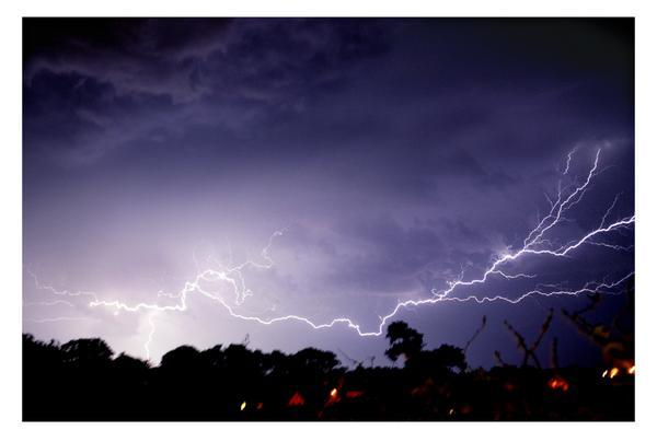 Lightning pictures from last night's storm in Dorset